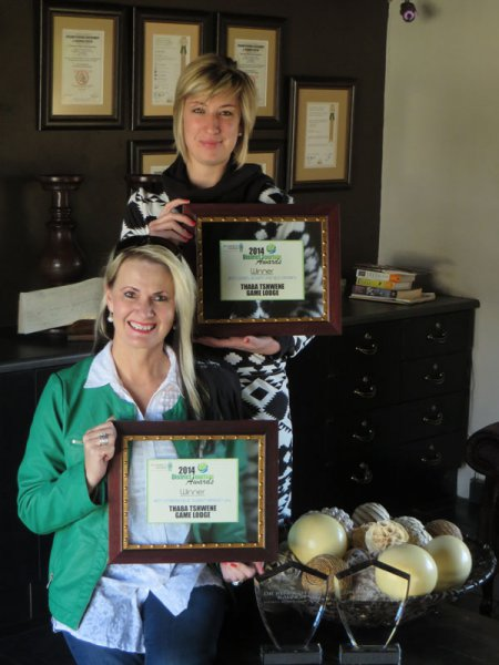 Thaba Tshwene Best Game Lodge/ Resort Self Catering 2014